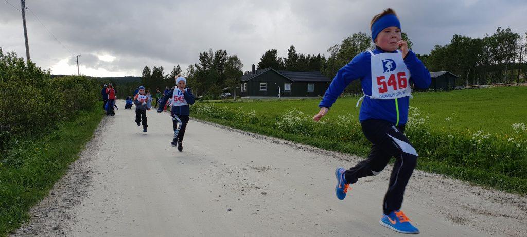 Fra Galådalsløpet i 2018. Foto: Bjørn Tore Hindklev)